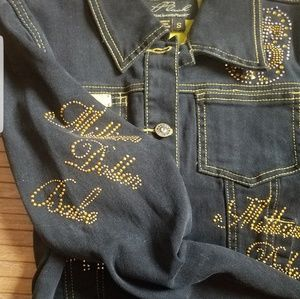 platinum plush Jackets & Coats - PPLUSH MILLION DOLLAR BABE Jacket
